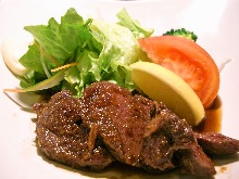Venison fillet steak
