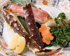 All-sort of Crab Dishes Course (Shirogumi) <8 dishes>