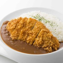 Pork cutlet curry
