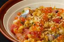Fisherman's rice bowl