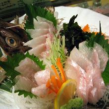 Sailfin poacher (sashimi)