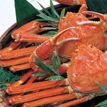 Boiled snow crab