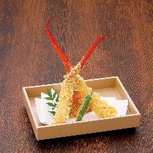 Deep-fried crab claw