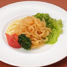 Chilled jellyfish dish