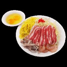 Deluxe Hiroshima-style okonomiyaki