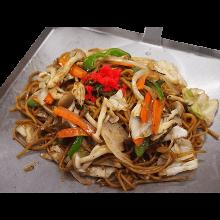 Vegetable yakisoba noodles