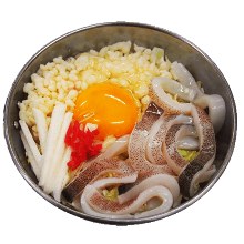 Squid okonomiyaki