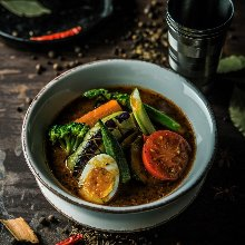 Vegetable soup curry