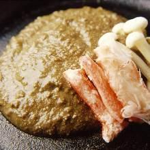 Miso-like paste of crab organs