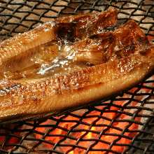 Seared Atka mackerel