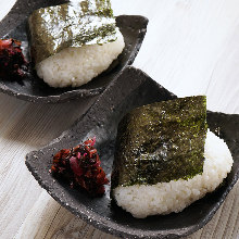 Plum Musubi (rolled)