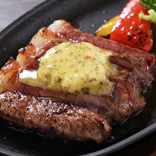 Beef loin steak