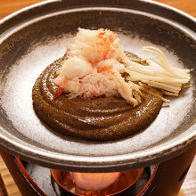 Miso-like paste of crab organs