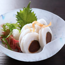 "Squid pickled in soy sauce ""Ruibe"""