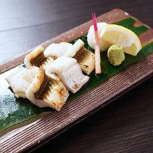 Grilled conger eel Shirayaki