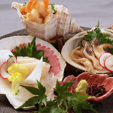 Assorted sashimi, 3 kinds