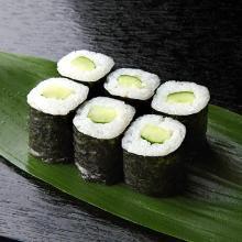Cucumber sushi rolls