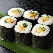 Natto sushi rolls