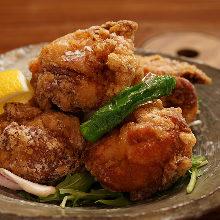 Locally raised chicken zangi