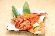 Lightly dried kichiji rockfish