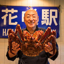 Red king crab (seared or boiled)