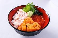 Tricolor rice bowl