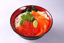 Crab rice bowl