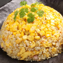 Fried rice with corn