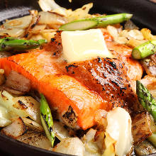 Chanchan-yaki (fish grilled with vegetables)