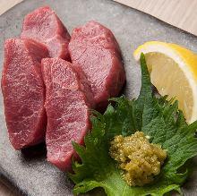 Raw lamb