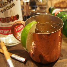Ginger Vodka Moscow Mule