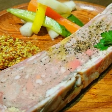 French country-style pate