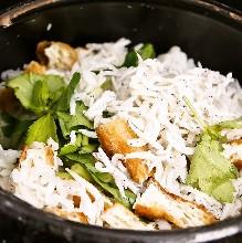 Donabe Gohan (rice in an earthen pot)