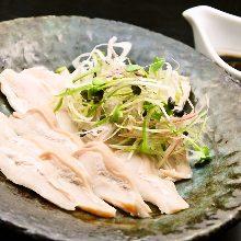 Pork guts (sashimi)