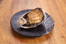 Grilled abalone