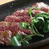 Hanging Tender Steak on Hot Plate