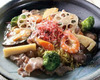 Seafood Yakisoba with Thick Starchy Sauce