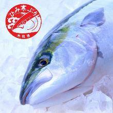 Seasonal sashimi