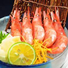 Ama ebi (pink shrimp)