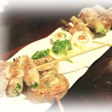 Assorted grilled skewers, 5 kinds