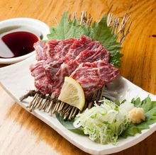 Edible horse meat