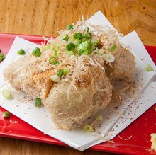 Deep-fried bean curd with fermented soybeans