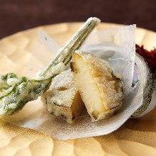 Abalone tempura