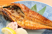 Lightly dried sailfin poacher
