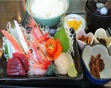 Sashimi set meal