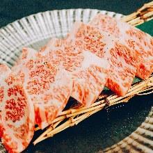 Wagyu beef rib finger meat