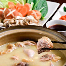 White broth hotpot