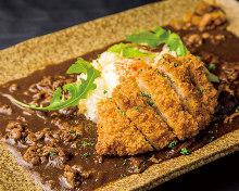 Pork cutlet curry
