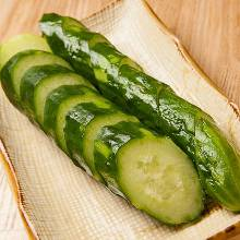 Pickled whole cucumber