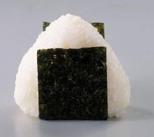 Salmon and cod roe rice ball